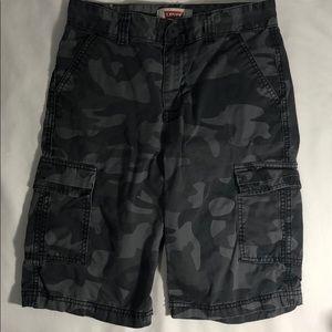 Levi's Boys Bermuda Camouflage Shorts Size 14